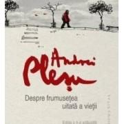 Despre frumusetea uitata a vietii ed. de lux - Andrei Plesu