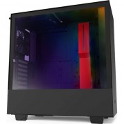 Carcasa NZXT H510i Matte, Middle Tower, ATX, fara sursa, Black/Red