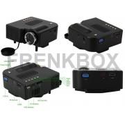Mini Proiettore Portatile a LED Videoproiettore Full HD 1080p Home Cinema PC