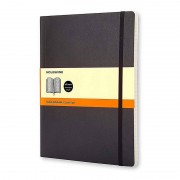 Moleskine Notebook Cuaderno A4 192 Hojas Páginas Rayadas Tapa Blanda Negro