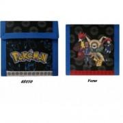 Pokémon - Produits Spéciaux - Porte Feuille Pokemon Sacha Amphinobi, Blindépique Et Goupelin