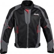 Akuma Motorrad-Jacke Motorrad Schutz-Jacke Akuma Sommer Textiljacke 1.0 schwarz/anthrazit/rot XL rot