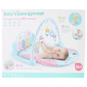 Planet of Toys Baby Piano Gym Mat 5 in 1 (Blue Color)