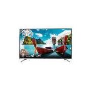 Smart TV LED 75 Philco PTV75e30DSWNT Ultra HD 4k com Conversor Digital 3 HDMI 2 USB Wi-Fi 60Hz - Titânio