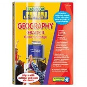 Educational Insights Grade 4: Geography Pre - Programmed Classroom Jeopardy Cartridge
