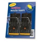 Capcană pentru uciderea instantanee a șoarecilor Pest Clear cu momeală - set 2 buc.