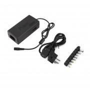 96W Universal Cargador Adaptador AC 110V/240V Para Laptop/notebook Negro Enchufe UE