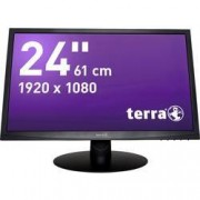 Terra LED monitor Terra LED 2412W, 61 cm (24 palec),1920 x 1080 px 5 ms, TN LED DVI, VGA, Audio-Line-in