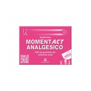 Angelini Spa Momentact Analgesico 400mg Analgesico-Antinfiammatorio 12 Bustine