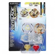 Hasbro Beyblade - Caynox y Wyvron W2 - Pack de Batalla para 2