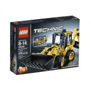 LEGO Technic 2 in 1 Mini Backhoe Loader / Telehandler 42004