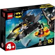 LEGO SUPER HEROES Batboat The Penguin Pursuit!