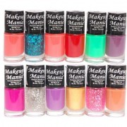Makeup Mania Nail Polish Set of 12 Pcs (Multicolor Set # 88)
