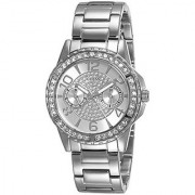 Guess Analog White Dial Womens Watch - W0705L1