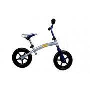 """Rowerek biegowy z odwracaną ramą niebiesko-szary 12"""""""