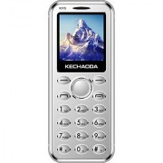 Kechaoda K115 (Dual Sim 1.44 Inch Display 800 Mah Battery SIlver)