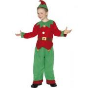 Costum Elf Mos Craciun copii 4-6 ani