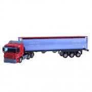 Rrimin 1:48 European Transport Vehicle Model Toys Simulation Alloy Container Truck