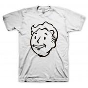Fallout Vault Boy Face Тениска - Размер L