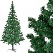 [en.casa]® Изкуствена коледна елха със стойка - 210 см.