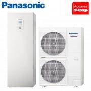 Pompa de Caldura Panasonic AQUAREA T-CAP 9kW All in One 220V WH-ADC1216H6E5 / WH-UX09HE5