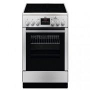 Готварска печка AEG CCB 56401 BX, клас А, 4 нагревателни зони, 58 л. обем на фурната, конвекция, вентилатор, инокс