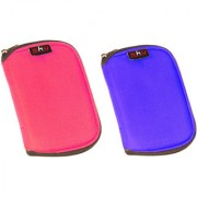 Sky Hard Disk Pouch Combo Pink With Lite Blue