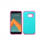 Funda Protector Mixto HTC 10 Aqua / Rosa