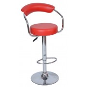 Sandra bárszék forgó ülőfelülettel, gázlifttel piros