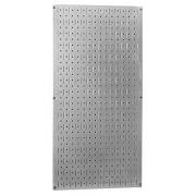 """Wall Control 30-GP-3216 GV 32"""" x 16"""" Galvanized Metal Pegboard Tool Board Panel"""