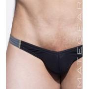 Mategear Roe Yeon Ultra Low Rise Front Ultra Bikini Swimwear Black 1930901