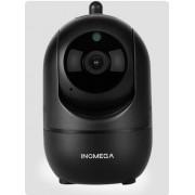HD Cloud draadloze IP-camera intelligent auto tracking Human Home Security Surveillance netwerk WiFi camera plug type: US plug (720P zwart)