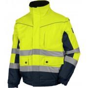 Würth MODYF 2-in-1 high visibility werkjack, geel/marineblauw