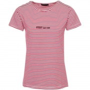 ComeGetFashion T-shirt gestreept rood- Tops & T-shirts