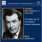 F. Chopin - Moiseiwitsch V.12 (0747313311828) (1 CD)