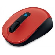 Microsoft Rato Mobile (Wireless - Casual - Vermelho)