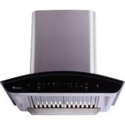 Seavy Zeroun Plus SS 60 Auto Clean with Motion Sensor Technology Wall Mounted Chimney(Stainless steel 1200 CMH)