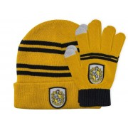 Cinereplicas Harry Potter - Hufflepuff Beanie & Gloves Set for Kids