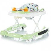 Бебешка проходилка 3в1 Chipolino Лили, зелена, 3500216