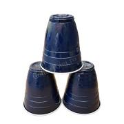 Pahar Plastic 6oz FLO Albastru 100buc