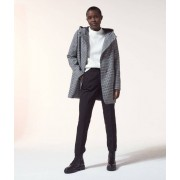 Etam Manteau à capuche - PAULA - 42 - Noir - Femme - Etam