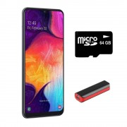 Samsung Smartphone Samsung Galaxy Galaxy A50 64 Negro Desbloqueado más Power Bank 2,200 mAh