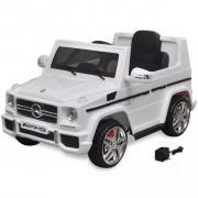 Sonata Детски акумулаторен джип Mercedes Benz G65, 2 мотора, бял