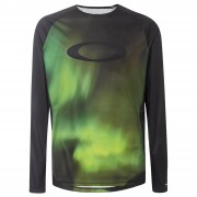 Oakley MTB Long Sleeve Tech Top - M - Green