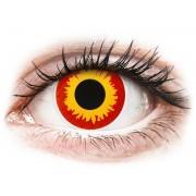 ColourVUE Crazy Lens - Wildfire (Червени, Огън ) - без диоптър (2 лещи)