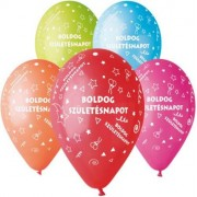 Léggömb, 30 cm, Boldog Születésnapot (PT11BSZ10)