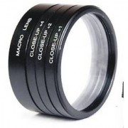 58mm close up lens filter kit +1 +2 +4 +10 macro for CANON EOS 1000D 1100D 5D 7D 60D 600D 550D 500D 18-55MM