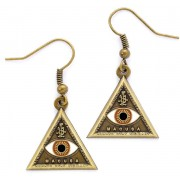 Fantastic Beasts - Triangle Eye Earrings