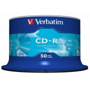 CD-R VERBATIM 700MB 52X SPINDLE 50 EXTRA PROTECTION 43351