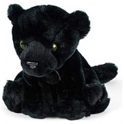 Wildlife Tree 8 Black Panther Stuffed Animal Plush Floppy Leopard Jaguar Zoo Den Collection